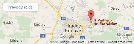 mapa prevod dat